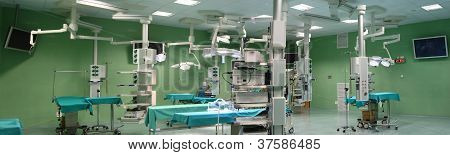 Panorama Of Operating Room