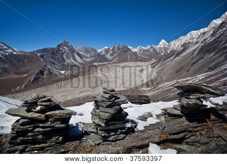 Sagarmatha National park - mountain view