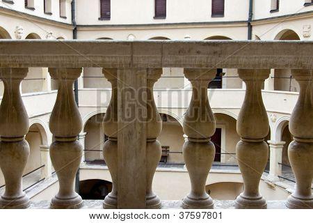 Stony Balustrade - Pieskowa Skala