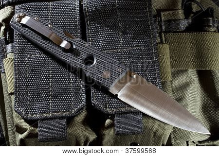 Folding Self-defense Knife
