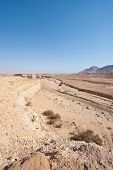 image of samaria  - Big Stones in Sand Hills of Samaria Israel - JPG