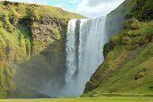 Skogafoss Waterfall, Iceland poster