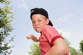 stock photo of attitude boy  - Bully - JPG