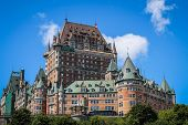 pic of cpr  - Beautiful Chateau Frontenac in Old Quebec City - JPG