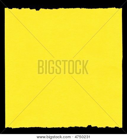 Piece Of Yellow Paper