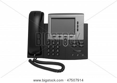 Black Ip Telephone
