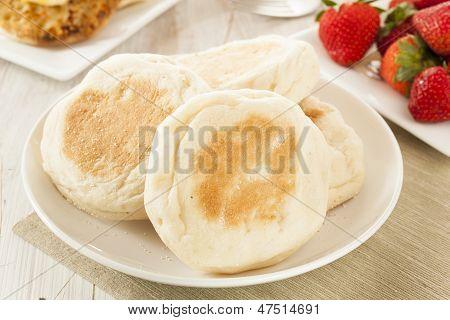 Organic Whole Wheat English Muffins