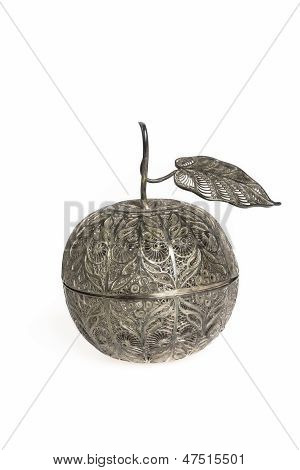 Filigree Silver Apple