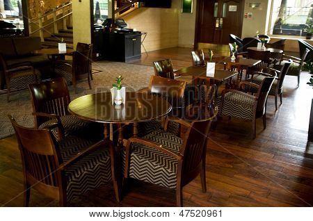 Luxurious Dining Area Of A Hotel