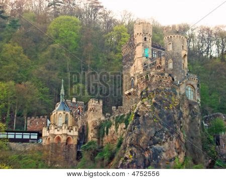 Rhines Germany Old Castle