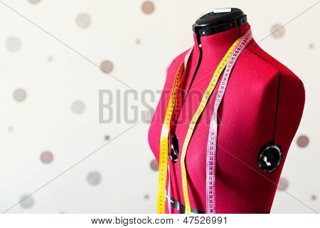 Red Tailors Dummy