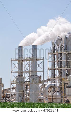 Industry Smoke Stacks