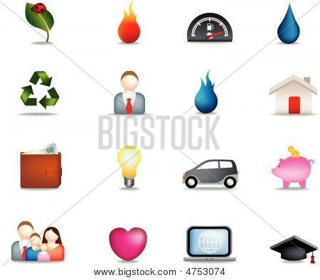 Home Detailed Icons