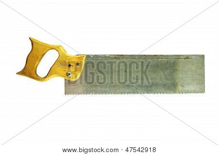 Saw With The Wooden Handle
