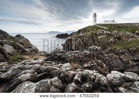 White Paited Lighthouse, Fanad Head, Ireland