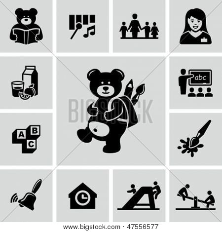 Iconos de preescolares