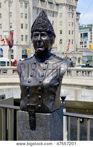 Bronze of Georgina Pope