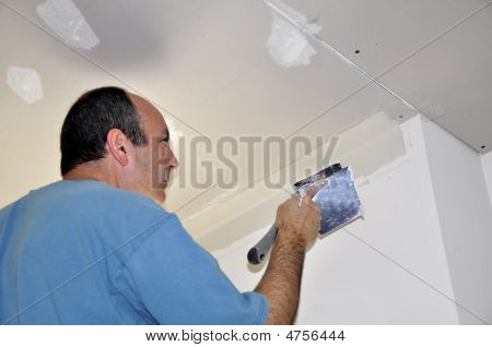 Drywall Spackling