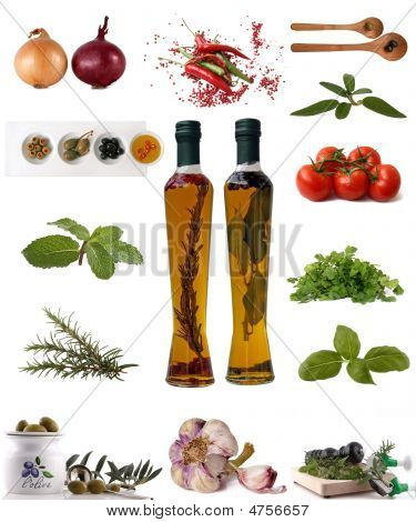 Assortment Of Ingredients