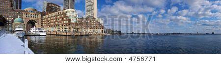 Rowes Wharf Panorama