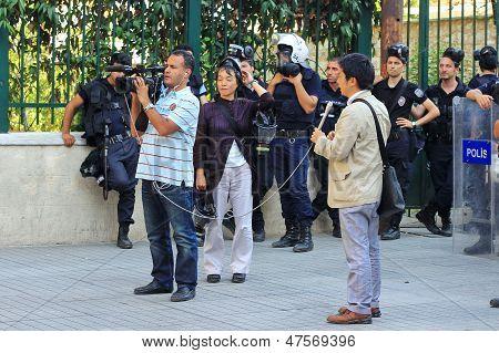 International journalists