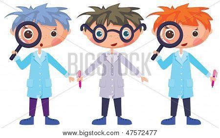Cartoon Scientists