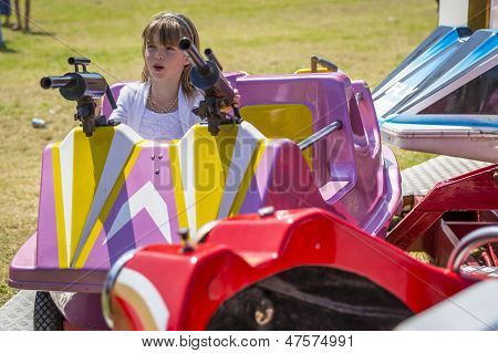 Young Girl At Summer Fete