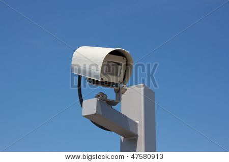 Surveillance Camera Facing Right