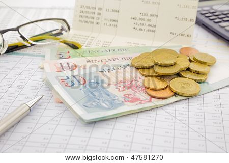 Currency And Paper Money Of Singapore