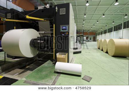 Newspaper Printing House