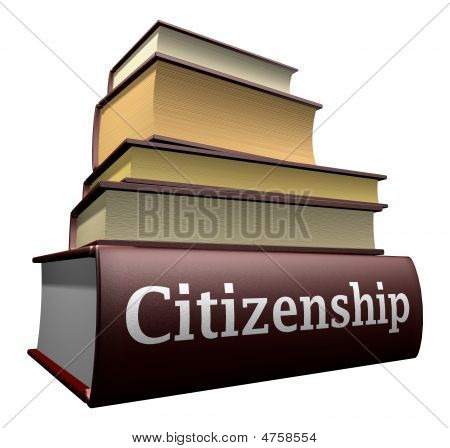 Education books - citizenship