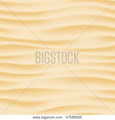 Seamless texture of sand beach. Sand background template.