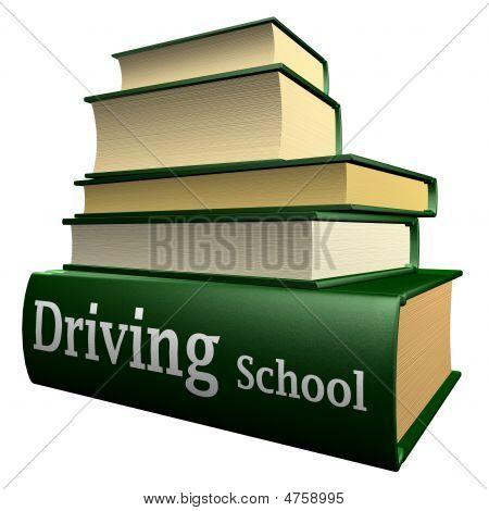 Education books - driving school