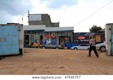Horizon Bus Station In Mbarara, Uganda