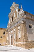Church of St. Teresa. Brindisi. Puglia. Italy.