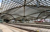 picture of koln  - Roof of Cologne main station  - JPG
