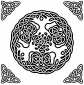 stock photo of wicca  - Vector illustration of nordic symbol  - JPG