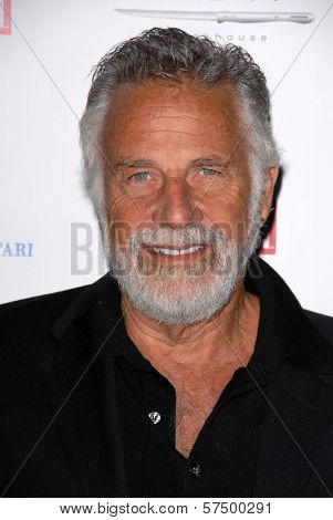 Jonathan Goldsmith at the Hollywood Reporter