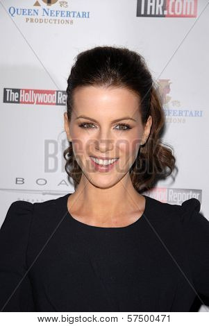 Kate Beckinsale at the Hollywood Reporter