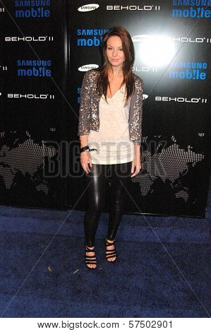 Samantha Droke at the Samsung Behold ll Premiere Launch Party, Blvd. 3, Hollywood, CA. 11-18-09