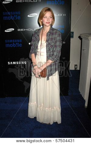 Hayley Bennett-Jones at the Samsung Behold ll Premiere Launch Party, Blvd. 3, Hollywood, CA. 11-18-09