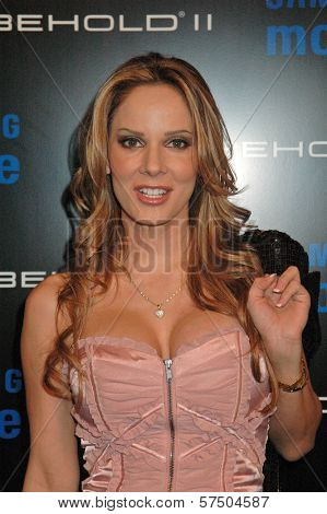 Simona Fusco at the Samsung Behold ll Premiere Launch Party, Blvd. 3, Hollywood, CA. 11-18-09