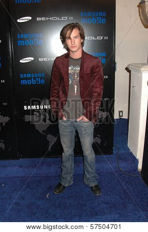 Andrew Allen at the Samsung Behold ll Premiere Launch Party, Blvd. 3, Hollywood, CA. 11-18-09