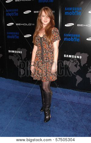 Aviva Farmer at the Samsung Behold ll Premiere Launch Party, Blvd. 3, Hollywood, CA. 11-18-09