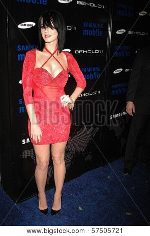 Katy Perry  at the Samsung Behold ll Premiere Launch Party, Blvd. 3, Hollywood, CA. 11-18-09
