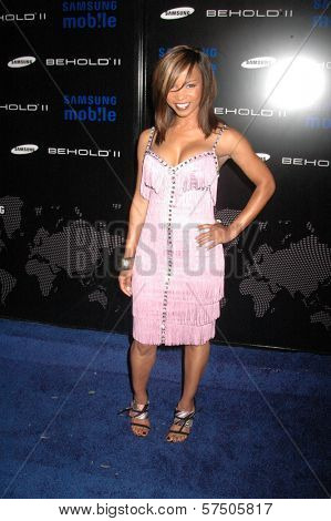 Elise Neal  at the Samsung Behold ll Premiere Launch Party, Blvd. 3, Hollywood, CA. 11-18-09