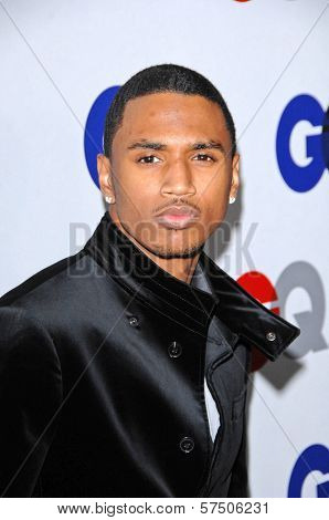 Trey Songz at the GQ Men of the Year Party, Chateau Marmont, Los Angeles, CA. 11-18-09