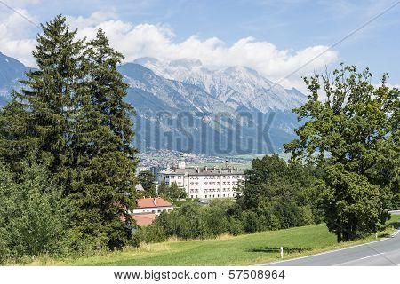 Ambras Castle Near Innsbruck, Austria.