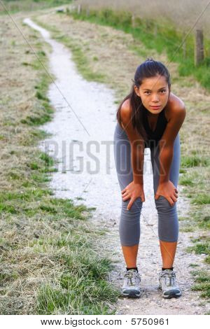 Woman Workout Outside