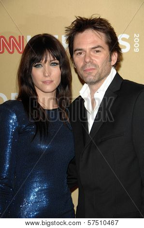 Billy Burke and wife Pollyanna Rose  at the